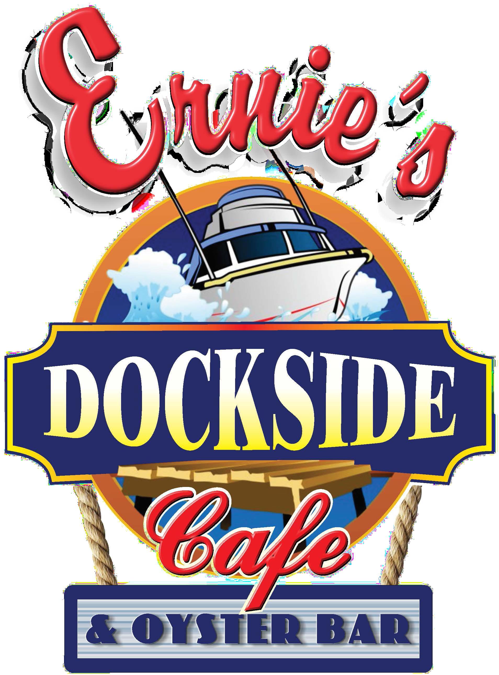 Ernies Dockside logo- 2